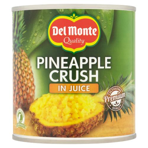 DELMONTE CRUSHED PINEAPPLE IN JUICE