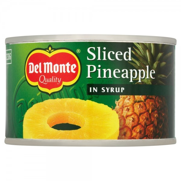 DELMONTE PINEAPPLE SLICES IN SYRUP