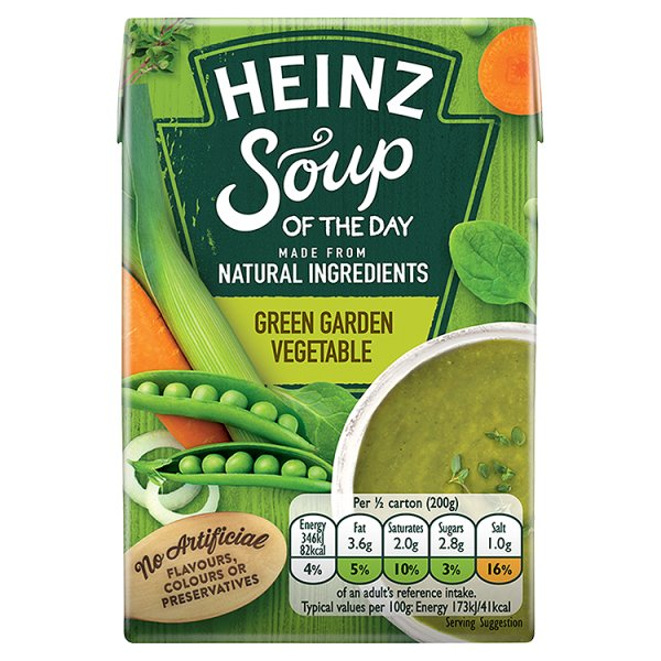 HEINZ GREEN GARDEN VEGETABLE SOUP