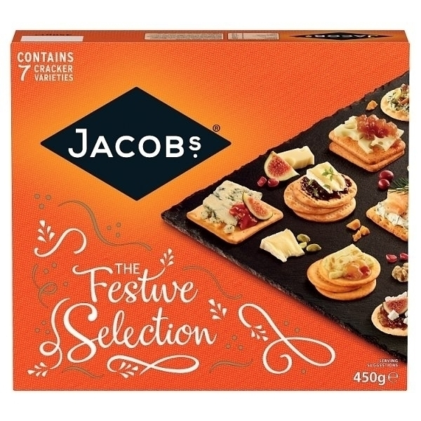JACOBS CHRISTMAS BISCUITS FOR CHEESE PS