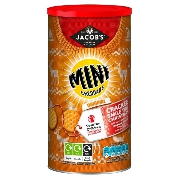 JACOBS MINI CHEDDARS CADDY PS