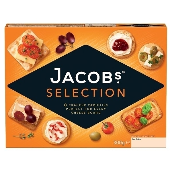 JACOBS BISCUITS FOR CHEESE PS