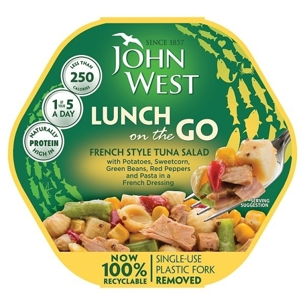 JOHN WEST LUNCH ON THE GO FRENCH STYLE TUNA SALAD