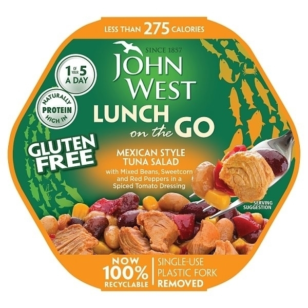 JOHN WEST LUNCH ON THE GO MEXICAN STYLE TUNA SALAD