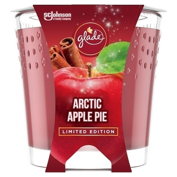 GLADE CANDLE ARCTIC APPLE PIE 129G