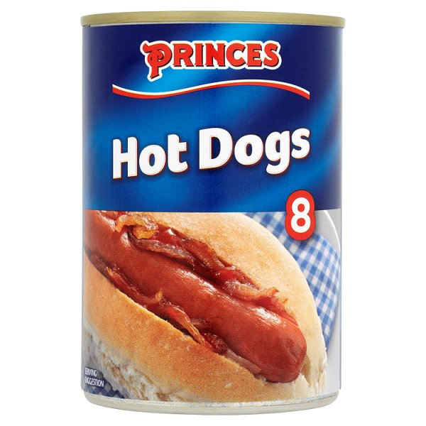 PRINCES HOT DOGS 8'S