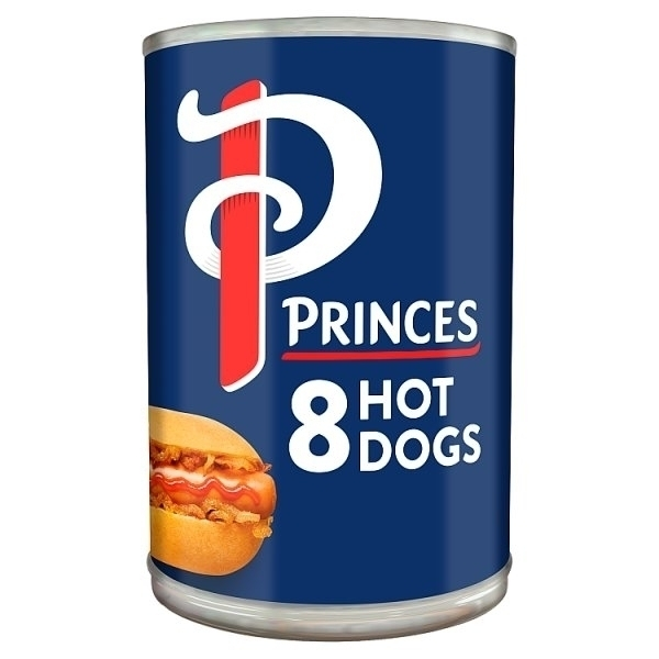PRINCES HOT DOGS 8S