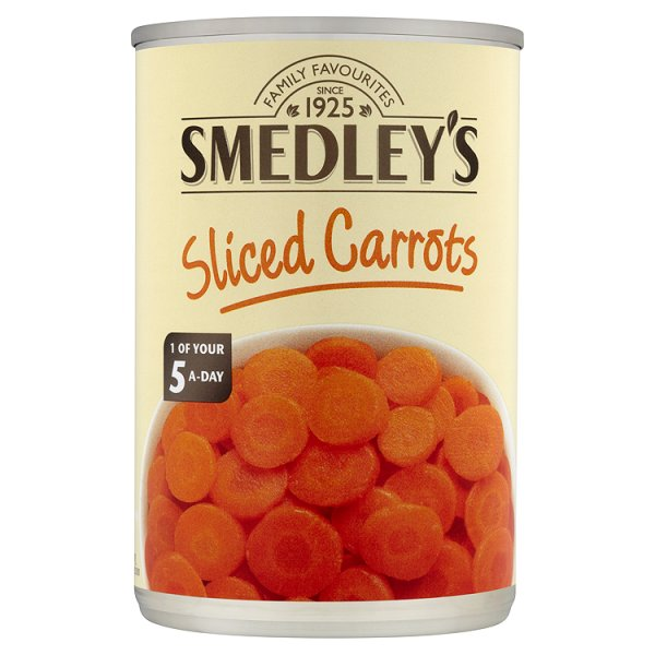 SMEDLEY SLICED CARROT IN WATER