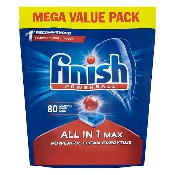 FINISH ALL-IN-1 DISHWASHER TABS 80S
