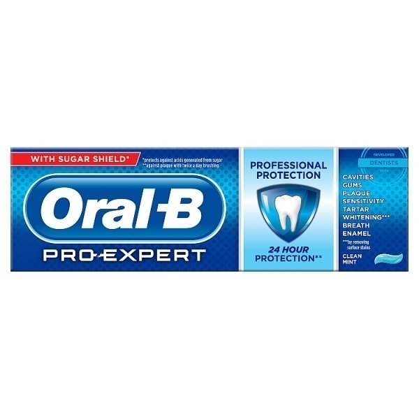 ORAL B PRO EXPERT PROTECT CLEAR MINT