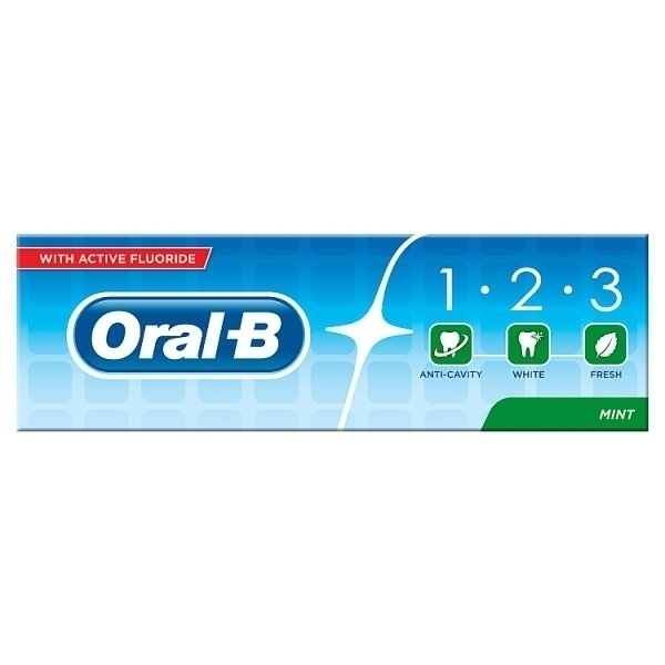 ORAL B 1-2-3 TOOTHPASTE