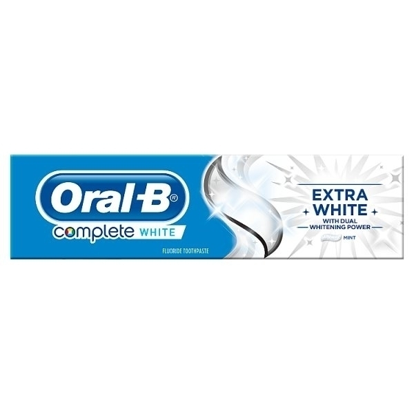 ORAL B COMPLETE EXTRA WHITE