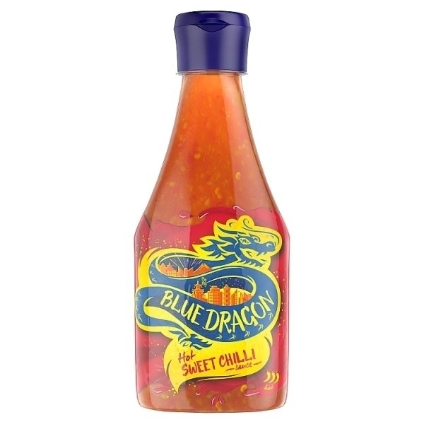 BLUE DRAGON DRAGON HOT SWEET CHILLI DIPPING SAUCE SQUEEZY