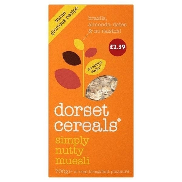 DORSET SIMPLY NUTTY PM£2.39