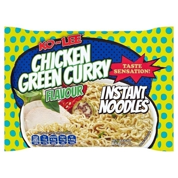 KO-LEE INSTANT NOODLES CHICKEN GREEN CURRY