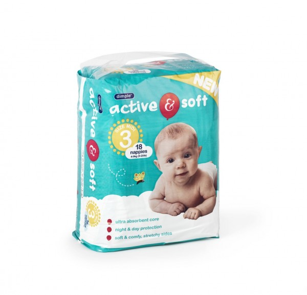 DIMPLES NAPPIES SIZE 3