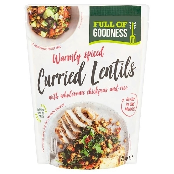 FULL OF GOODNESS CURRIED LENTILS