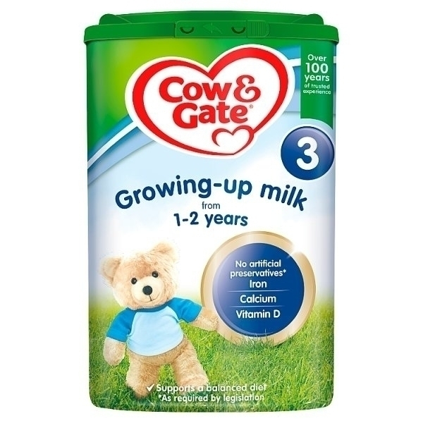 COW&GATE GROWING UP MILK 1