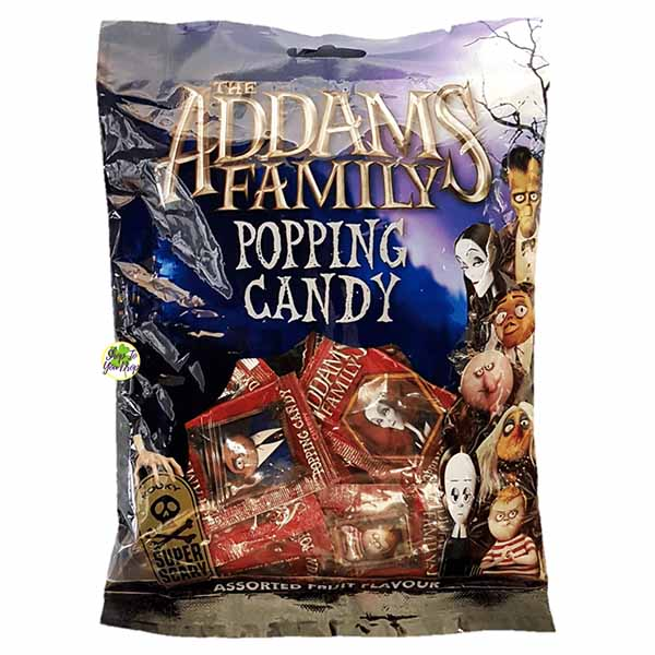 ADDAMS FAMILY POPPING CANDY 30PK PS