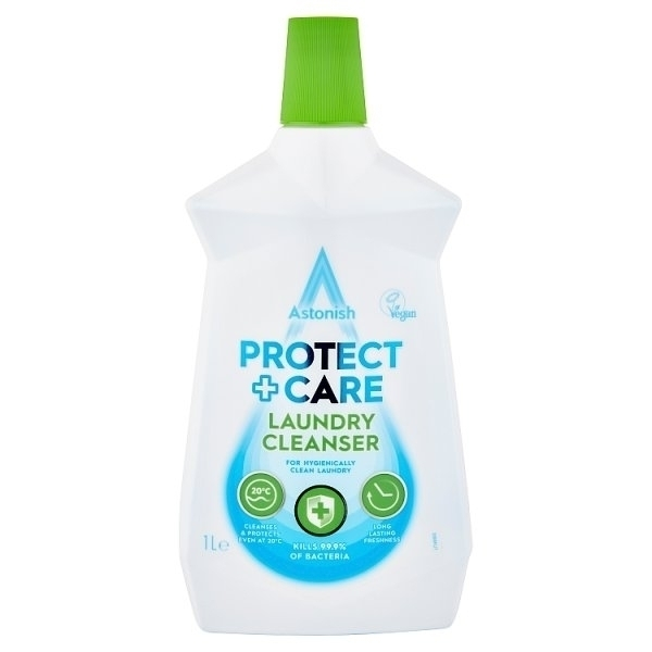 ASTONISH CARE & PROTECT LAUNDRY CLEANSER 1LTR