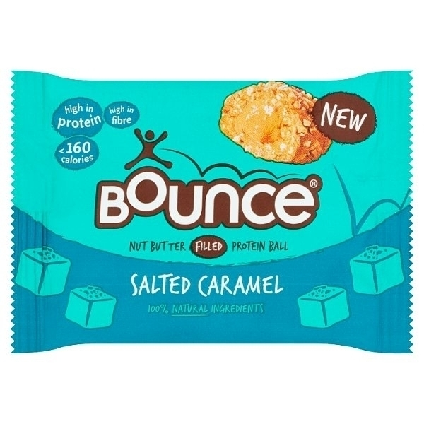 BOUNCE SALTED CARAMEL PROTEIN BALL