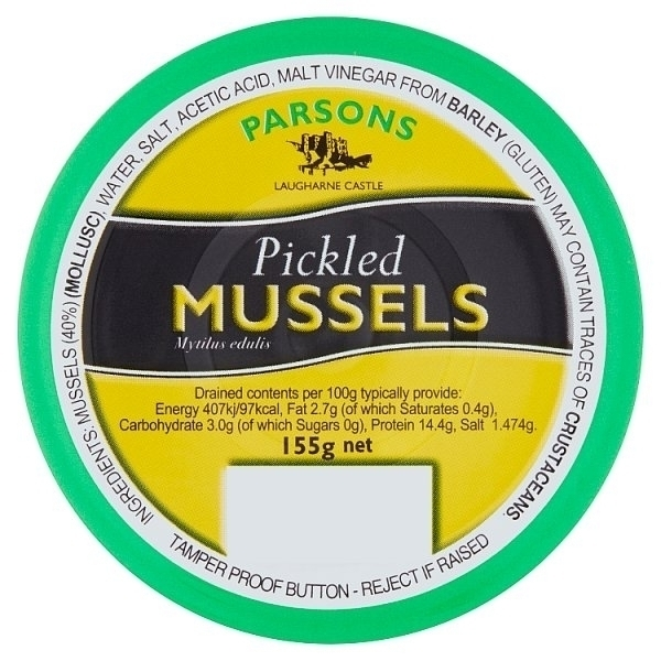 PARSONS PICKLED MUSSELS