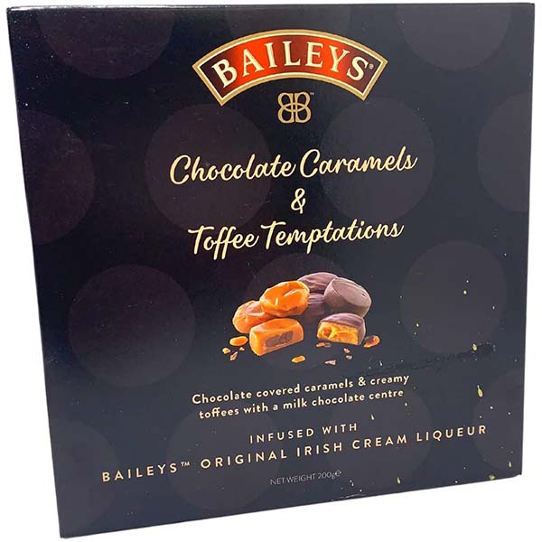BAILEYS ASSORTED CARAMELS/TOFFEE TEMPTATIONS PS