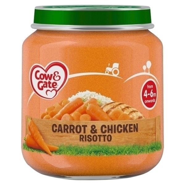 COW&GATE CARROT & CHICKEN RISOTTO 4M