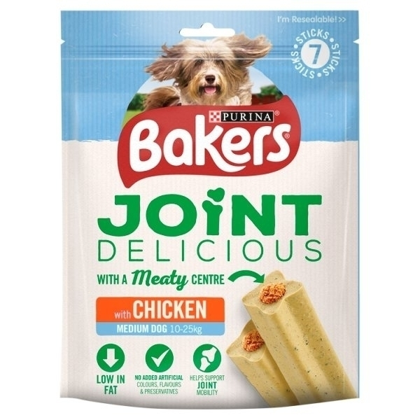 BAKERS JOINT DELICIOUS CHICKEN CHEWS