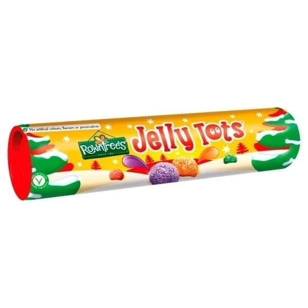 ROWNTREE JELLY TOTS TUBE PS