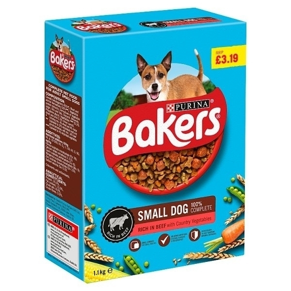 BAKERS SMALL BEEF & VEGETABLE PM£3.19