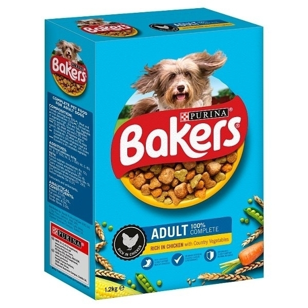 BAKERS DRY DOG FOOD CHICKEN & VEGETABLE