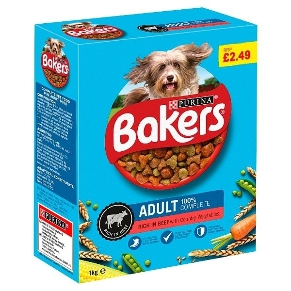 BAKERS COMPLETE BEEF & VEGETABLE PM£2.49