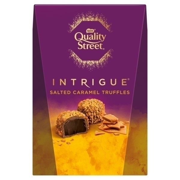NESTLE QUALITY STREET INTRIGUE SALTED CARAMEL