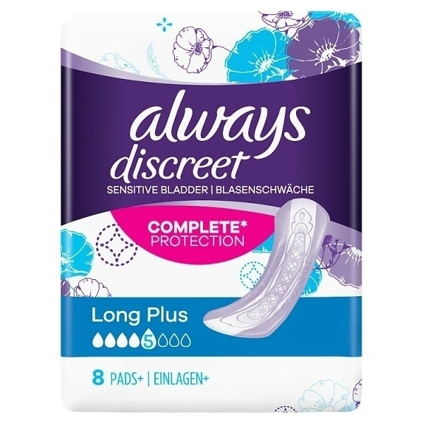 ALWAYS DISCREET SENSITIVE BLADDER AND INCONTINENCE