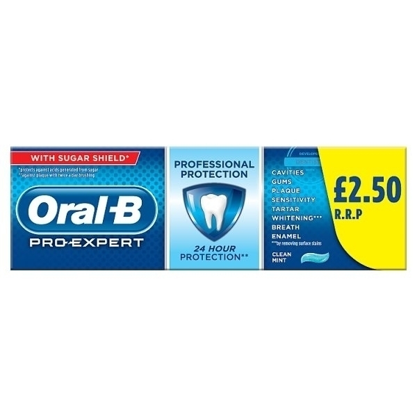 ORAL B PRO EXPERT PM£2.50