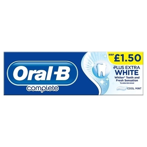 ORAL B COMPLETE EXTRA WHITE PMAE1.50